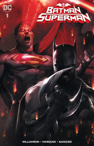 Batman Superman #1 Francesco Mattina