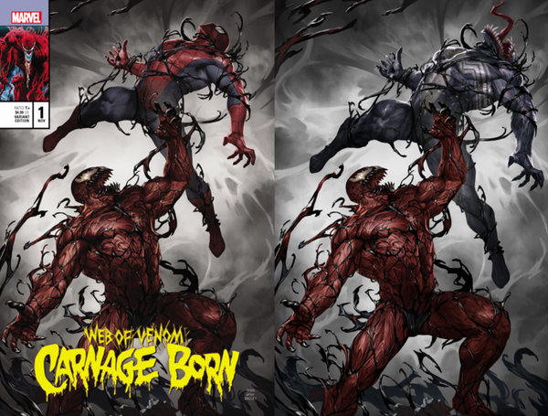 WEB OF VENOM CARNAGE BORN #1
