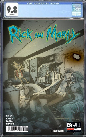 RICK & MORTY #32 THE FLESH CURTAINS CGC 9.8