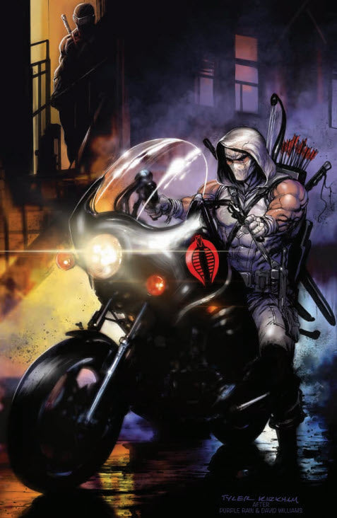 Snake Eyes: Deadgame #2 Tyler Kirkham Purple Rain