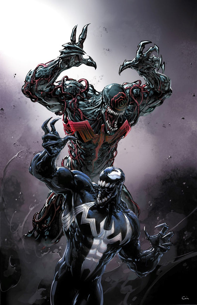 Venom #2 Crain Convention Cover