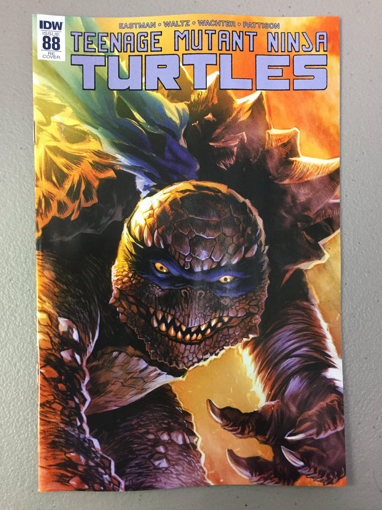 Teenage Mutant Ninja Turtles #88 Trade Dress