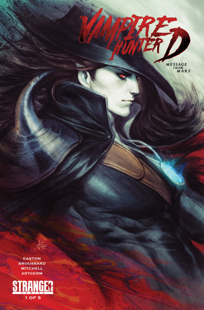 VAMPIRE HUNTER D MESSAGE MARS #1 FRANKIE'S COMICS ARTGERM VARIANT COLOR