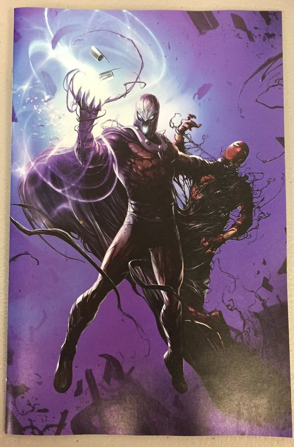 Astonishing X-MEN #3 Venomized Magneto Mattina