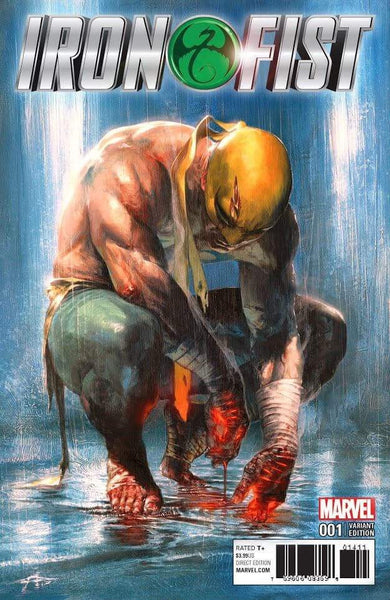 Iron Fist #1 Gabriele Dell'Otto Color B&W Variant Set