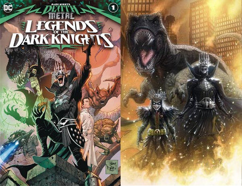 Dark Nights Death Metal Legends of the Dark Nights  #1 Kaare Andrews Set
