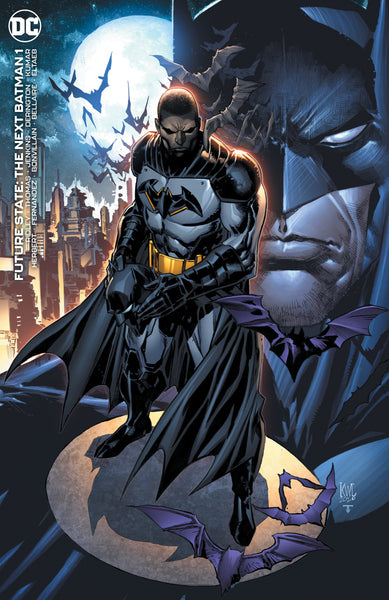 The Next Batman #1 Ken Lashley