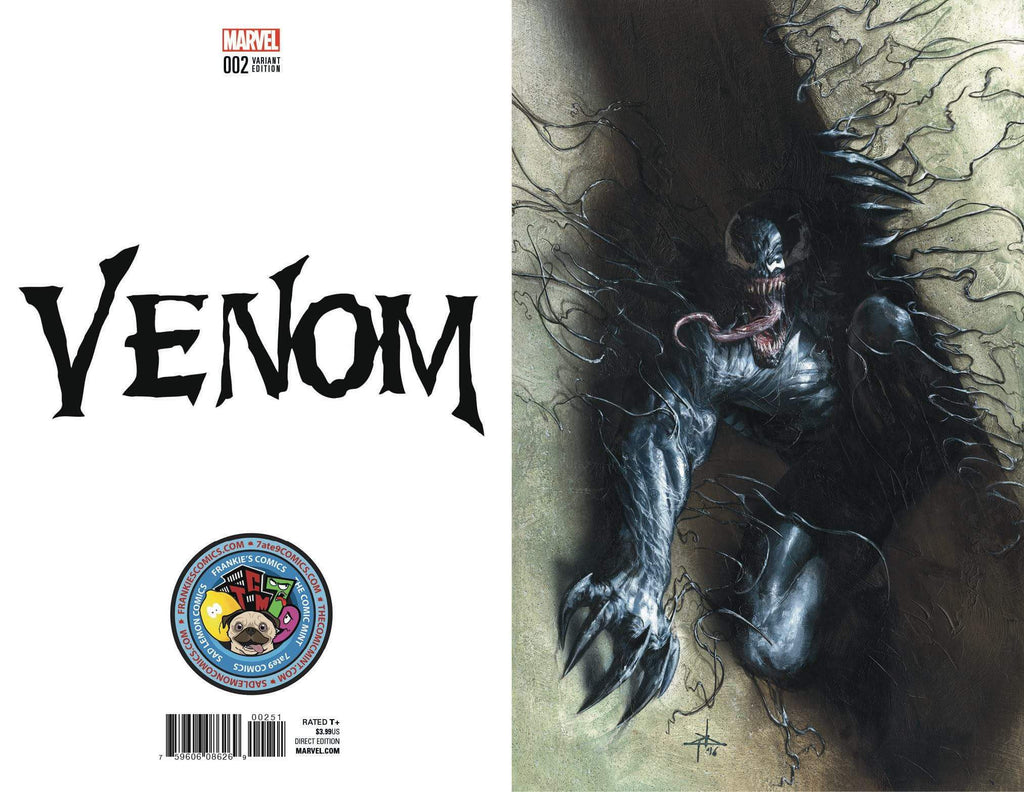 Venom #2 Dell'Otto Virgin Set
