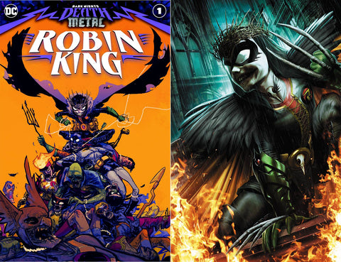 Dark Nights Death Metal Robin King #1 Jeremy Roberts Set