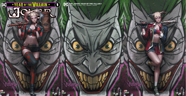 Joker Year of the Villain #1 Jeehyung Lee