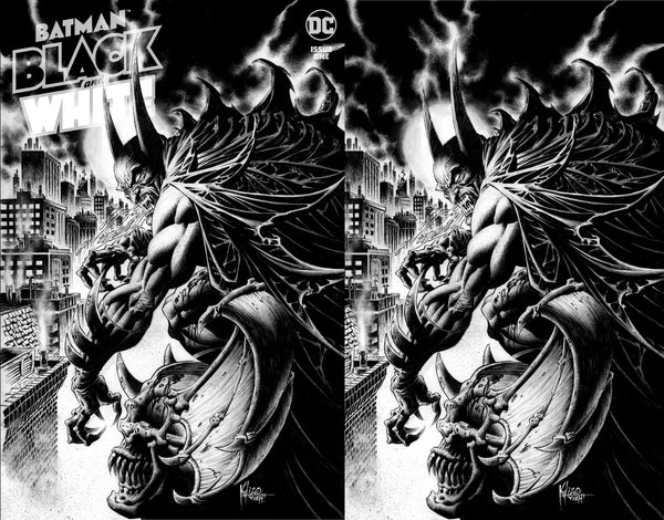 Batman Black & White #1 Kyle Hotz Vampire