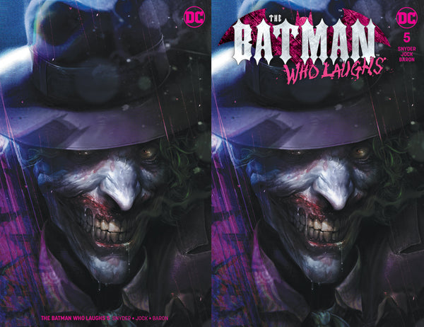 Batman Who Laughs #5 Mattina Joker