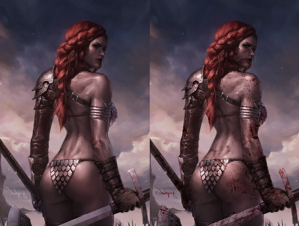 Red Sonja #1 Jeehyung Lee