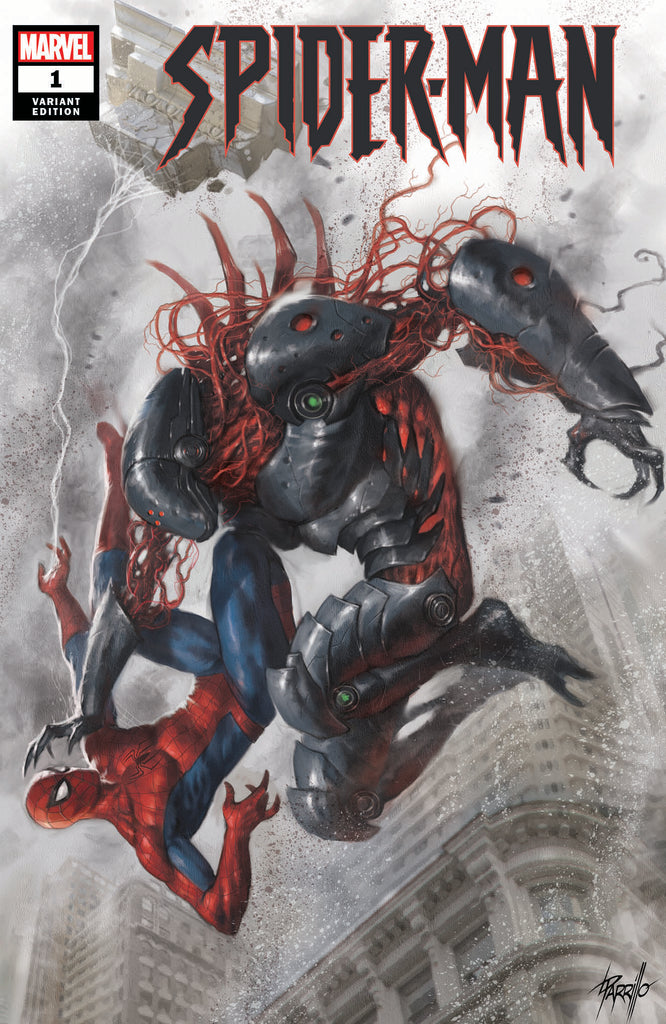 Spider-Man #1 Lucio Parrillo