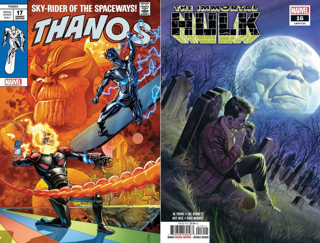 Thanos #17 Hulk #16 Set