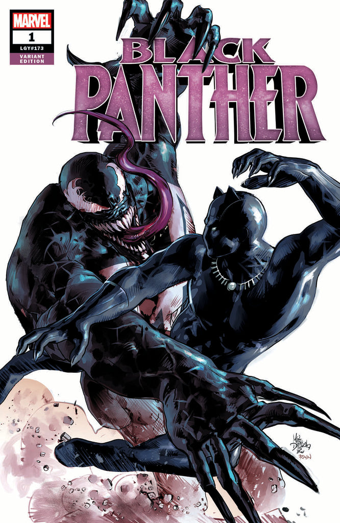 Black Panther #1 Mike Deodato Trade Dress