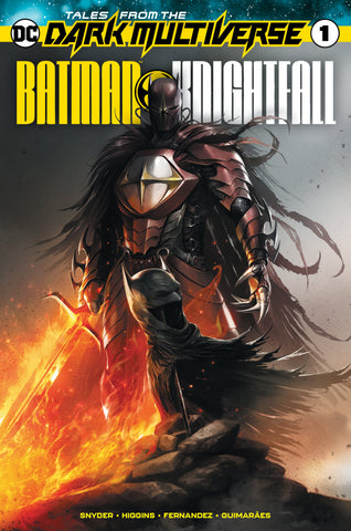 Batman Knightfall #1 Mattina