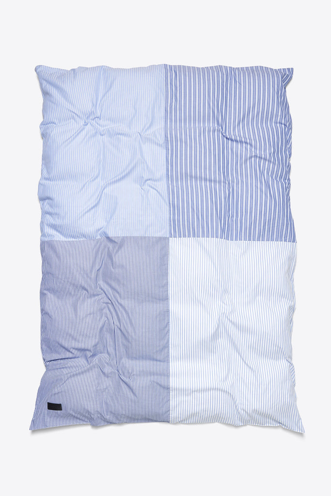 Wall Street <br> Duvet cover <br> Oxford <br> 4/4 Patchwork