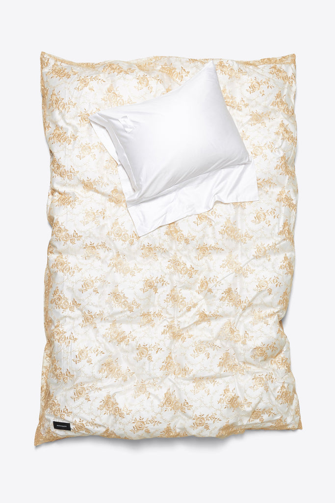 Rose <br> Duvet cover <br> Lace <br> Apricot