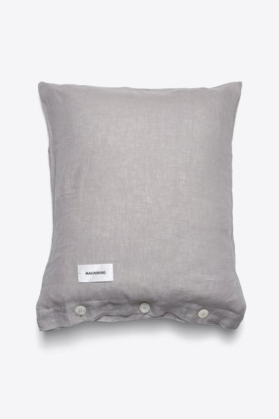 Mother <br> Pillow case <br> Linen <br> Grey