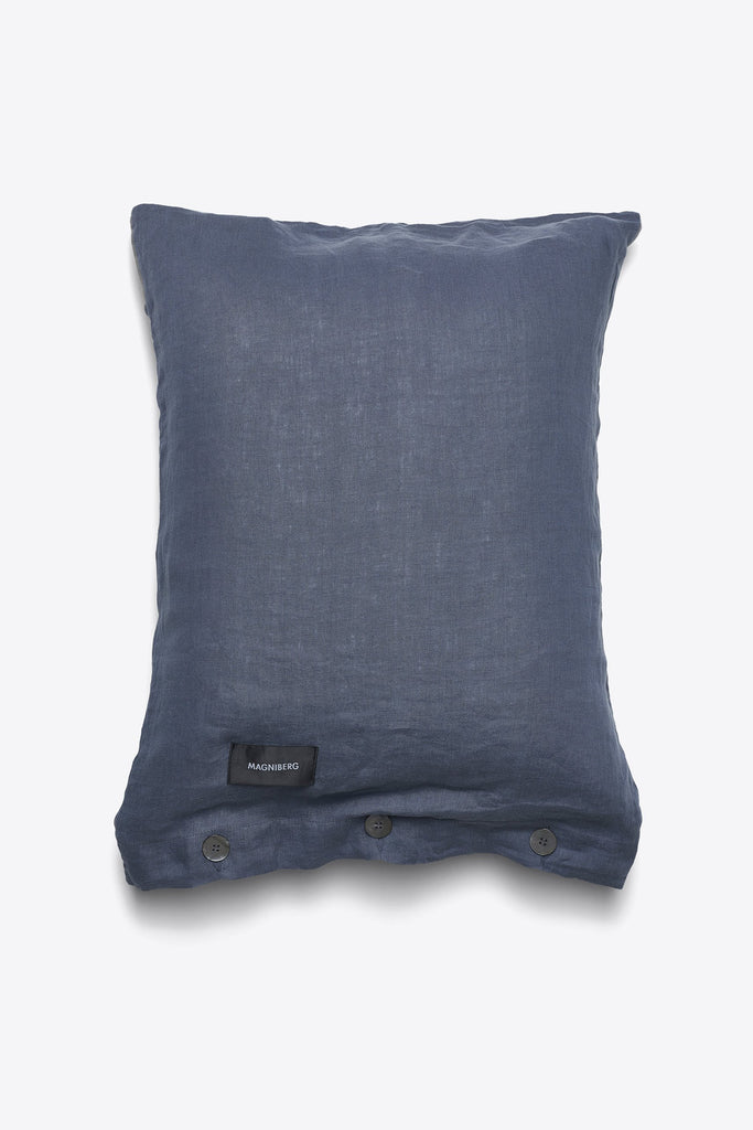 Mother <br> Pillow case <br> Linen <br> Bluish grey