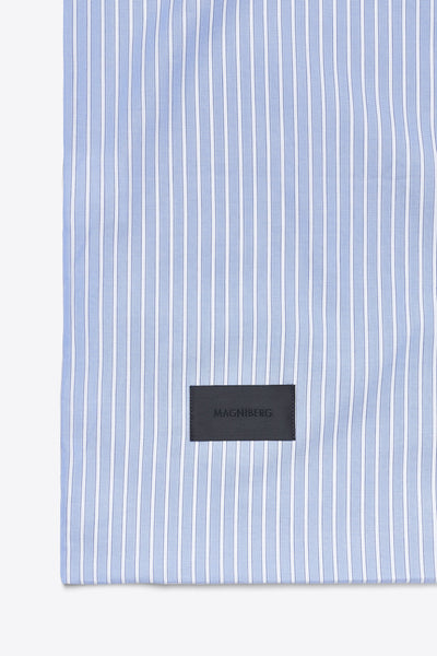 Wall Street <br> Duvet cover <br> Oxford <br> Stripe light blue