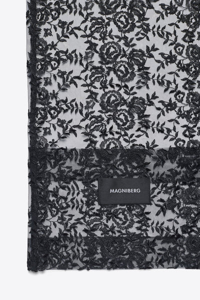 Rose <br> Duvet cover <br> Lace <br> Black