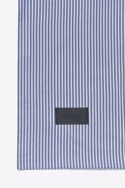 Wall Street <br> Duvet cover <br> Oxford <br> Stripe dark blue