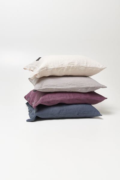 Mother <br> Pillow case <br> Linen <br> Beige