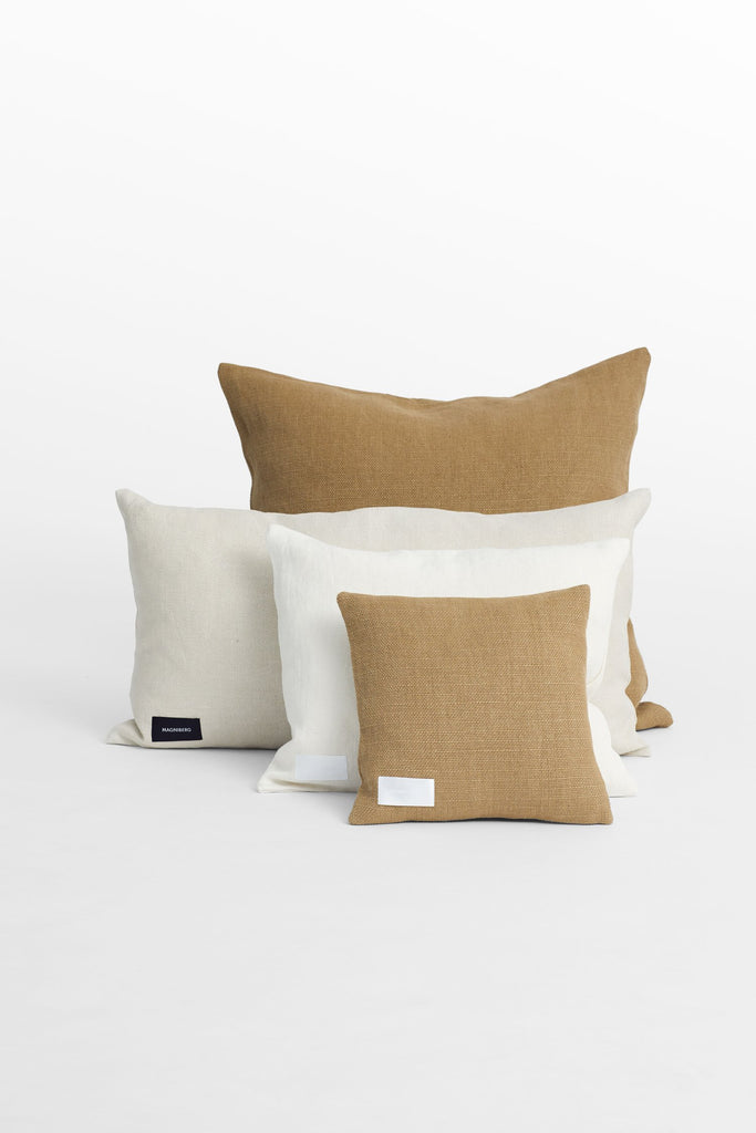 Cottage<br> Cushion <br> Linen <br> Mushroom