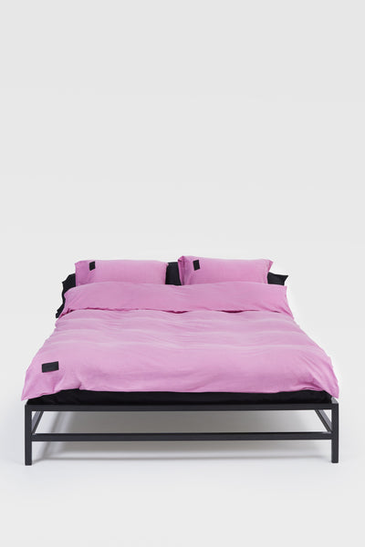 Nude <br> Duvet cover <br> Double jersey <br> Washed orchid pink