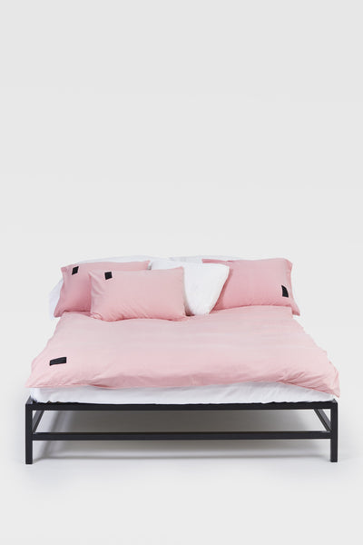 Nude <br> Pillow case <br> Jersey <br> Washed pink