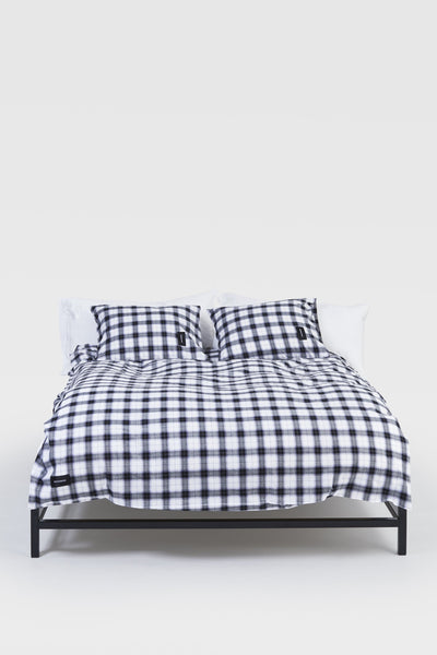 Rodeo <br> Pillow case <br> Cotton & Lurex <br> Check
