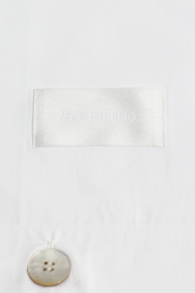 Mother <br> Pillow case <br> Poplin <br> White