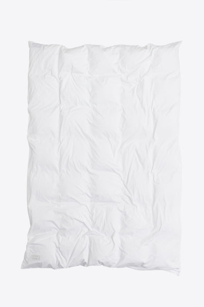 Nude <br> Duvet cover <br> Jersey <br> Washed white