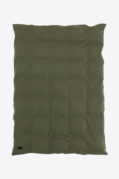 Nude <br> Duvet cover <br> Jersey <br> Washed army green