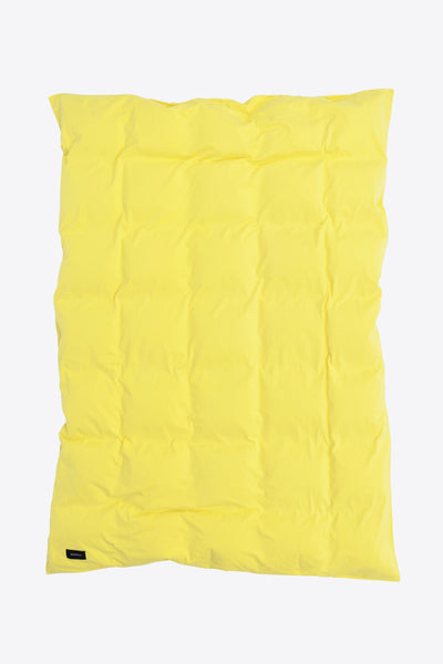 Nude <br> Duvet cover <br> Jersey <br> Washed yellow