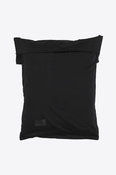 Raw <br> Pillow case <br> Sateen <br> Black