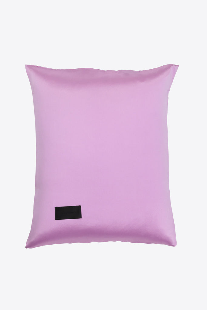 Rose <br> Pillow case <br> Silk <br> Pink
