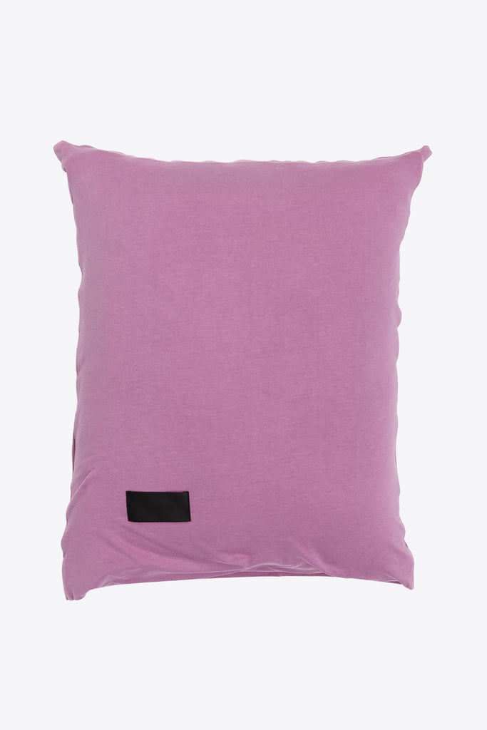 Nude <br> Pillow case <br> Double jersey <br> Washed orchid pink