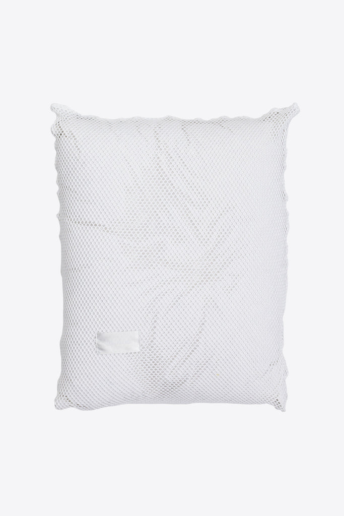 Sex <br> Pillow case <br> Mesh <br> Optic white