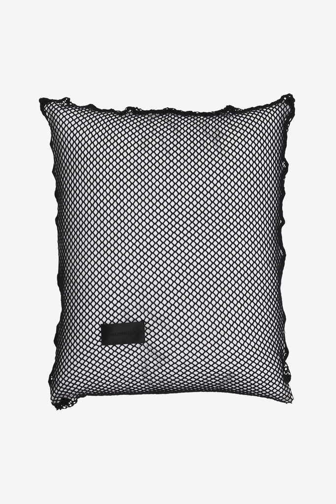 Sex <br> Pillow case <br> Open mesh <br> Clean black