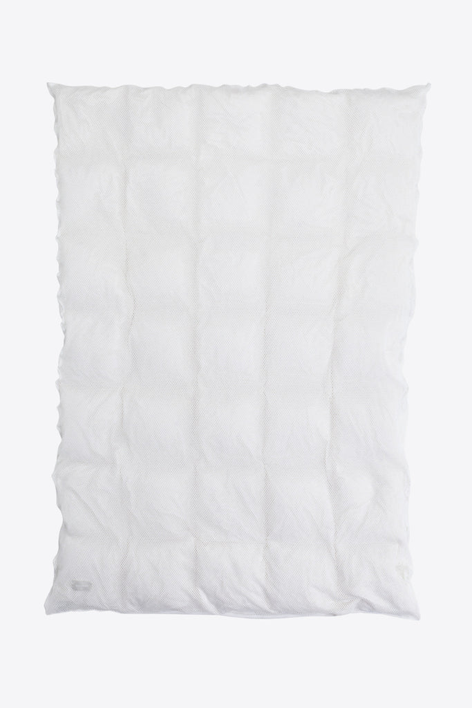 Sex <br> Duvet cover <br> Mesh <br> Optic white
