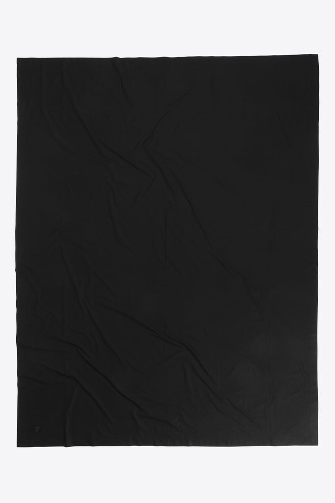 Mother <br> Flat sheet <br> Poplin <br> Black