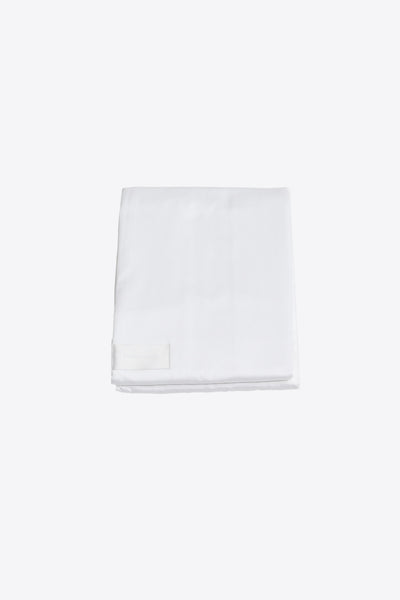 One <br> Flat sheet <br> Sateen <br> White