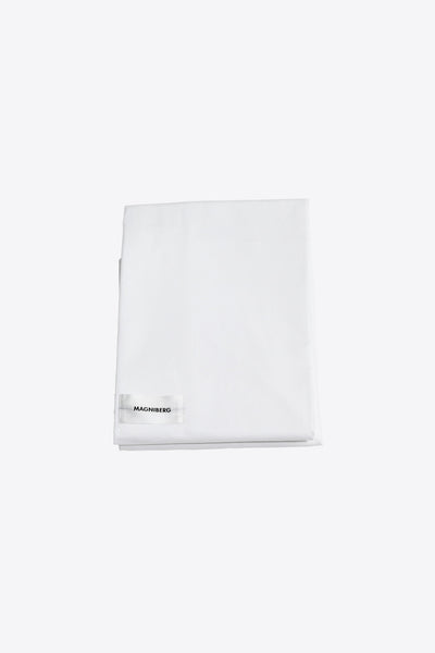 Raw <br> Flat sheet <br> Poplin <br> White