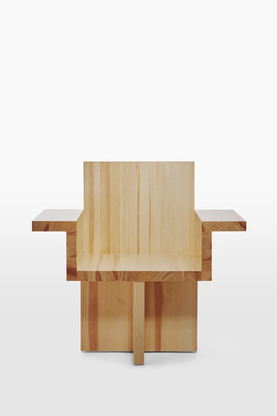 Horse <br> Armchair <br> Pine Wood <br> Nature