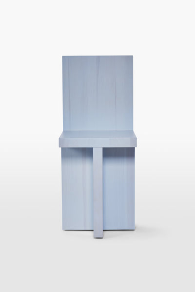 Pony <br> Chair <br> Pine Wood <br> Baby Blue