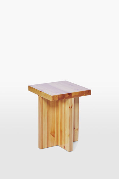Fox <br> Stool <br> Pine Wood <br> Laquered
