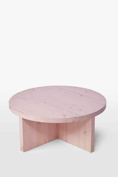 Wolf <br> Table <br> Pine Wood <br> Pink